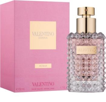 Valentino Donna Acqua eau de toilette para mujer 50 ml