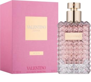 Valentino Donna Acqua eau de toilette para mujer 100 ml