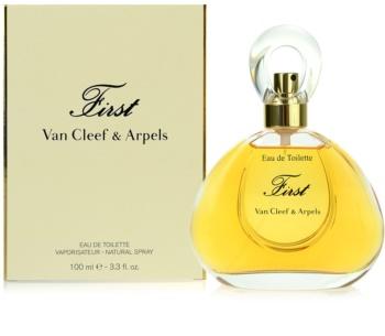Van Cleef & Arpels First eau de toilette para mulheres 100 ml