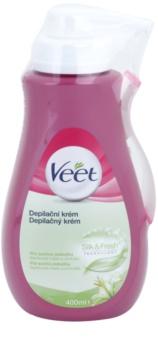Veet Depilatory Cream hydratačný depilačný krém pre suchú pokožku