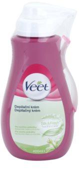 Veet Depilatory Cream зволожуючий крем для депіляції для сухої шкіри