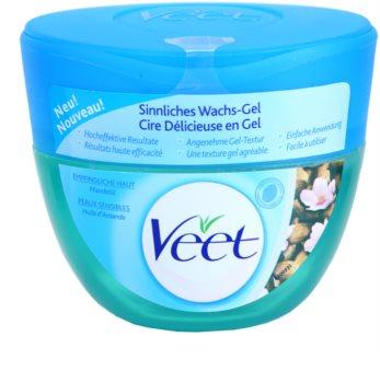 Veet Depilatory Gel cera con textura de gel  para pieles sensibles