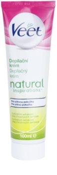 Veet Natural Inspirations крем для депіляції для чутливої шкіри