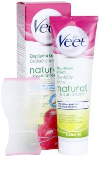Veet Natural Inspirations depilační krém pro citlivou pokožku