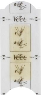 Veet Wax Strips воскові смужки для депіляції лінія бікіні та пахви