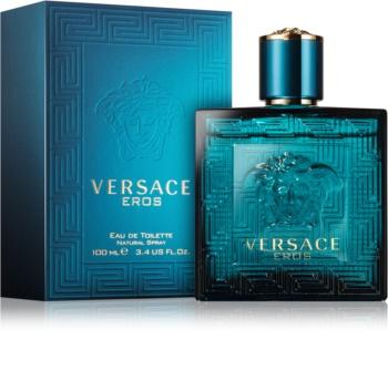 Versace Eros Eau de Toilette voor Mannen 100 ml