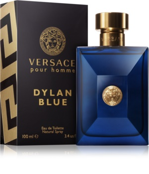 Versace Dylan Blue Pour Homme Eau de Toilette for Men 100 ml