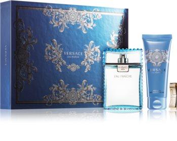 Versace Man Eau Fraîche lote de regalo XXV. para hombre