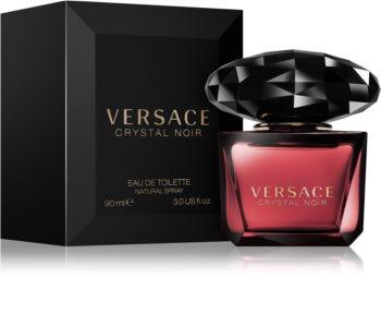 Versace Crystal Noir eau de toilette pentru femei 90 ml