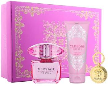 Versace Bright Crystal Absolu dárková sada XII.