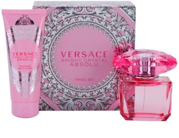 Versace Bright Crystal Absolu darčeková sada III.