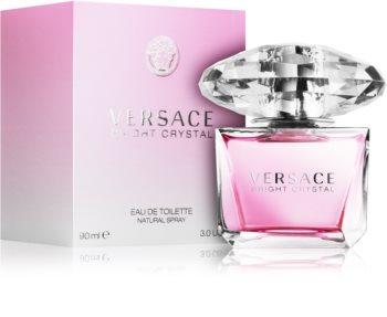 Versace Bright Crystal Eau de Toilette voor Vrouwen  90 ml