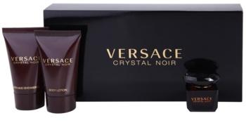 Versace Crystal Noir darčeková sada III.