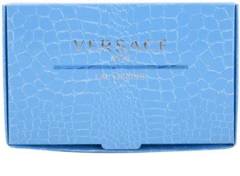 Versace Man Eau Fraîche zestaw upominkowy tester dla mężczyzn 3 szt.