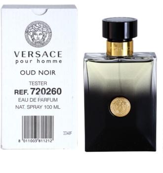 Versace Pour Homme Oud Noir Parfumovaná voda tester pre mužov 100 ml
