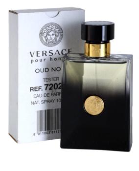 Versace Pour Homme Oud Noir eau de parfum teszter férfiaknak 100 ml
