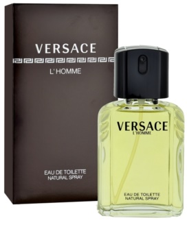 Versace L'Homme Eau de Toilette voor Mannen 50 ml