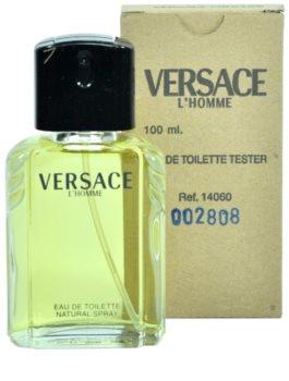 Versace L'Homme toaletná voda tester pre mužov 100 ml