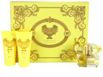 Versace Yellow Diamond darčeková sada IV.