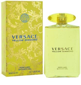 Versace Yellow Diamond gel douche pour femme 200 ml