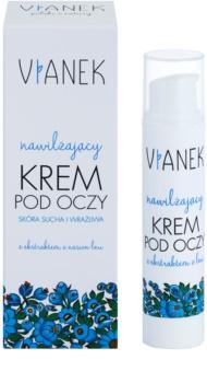 Vianek Moisturising creme de olhos com efeito hidratante para pele seca a sensível