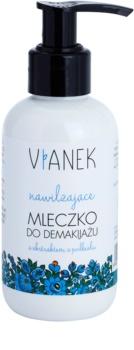 Vianek Moisturising čisticí pleťové mléko s hydratačním účinkem