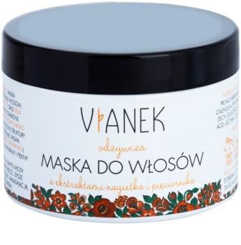 Vianek Nutritious máscara regeneradora para cabelo com efeito nutritivo