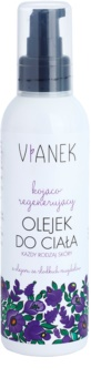 Vianek Soothing óleo corporal com efeito regenerador