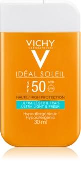 Vichy Idéal Soleil ультралегкий сонцезахисний крем для обличчя та тіла SPF 50