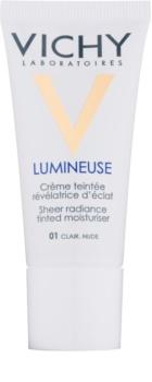 Vichy Lumineuse crema con color y efecto iluminador  para pieles secas