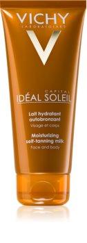 Vichy Idéal Soleil Capital latte autoabbronzante idratante per viso e corpo