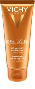 Vichy Idéal Soleil Capital hydratačné samoopaľovacie mlieko na tvár a telo