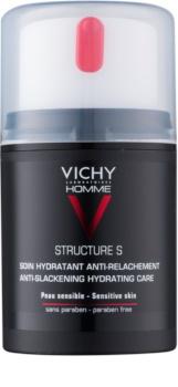 Vichy Homme Structure S hidratáló krém a megereszkedett bőrre