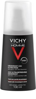 Vichy Homme Deodorant Deodorant Spray to Treat Excessive Sweating