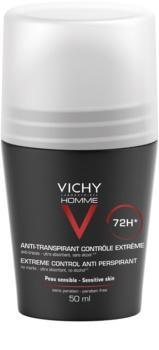 Vichy Homme Deodorant Antitranspirant-Deoroller gegen übermäßiges Schwitzen