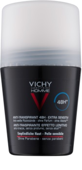Vichy Homme Deodorant antyperspirant roll-on nieperfumowane