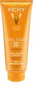 Vichy Idéal Soleil Capital Beschermende Melk voor het Gezicht en Lichaam  SPF 30