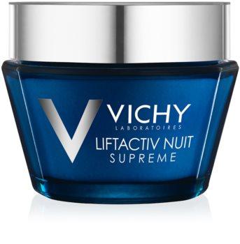 Vichy Liftactiv Supreme noćna krema za učvršćivanje protiv bora s lifting učinkom