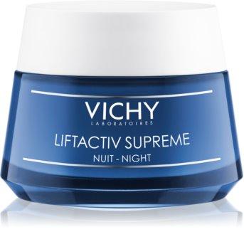 Vichy Liftactiv Supreme nočna krema za učvrstitev kože in proti gubam z učinkom liftinga