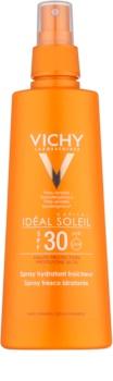 Vichy Idéal Soleil Capital schützendes Spray mit feuchtigkeitsspendender Wirkung SPF 30