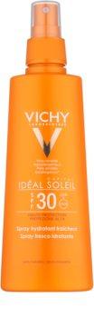 Vichy Idéal Soleil Capital spray de protecție cu efect de hidratare SPF 30