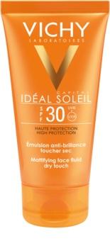 Vichy Capital Soleil захисний матуючий флюїд для шкіри SPF 30