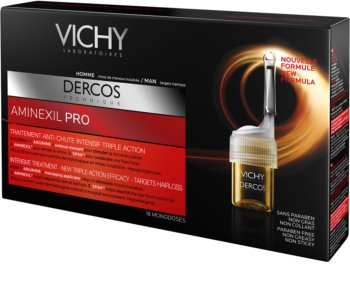 Vichy Dercos Aminexil PRO intenzivní kúra proti padání vlasů pro muže