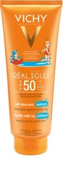 Vichy Idéal Soleil Capital mleczko ochronne dla dzieci na twarz i ciało SPF 50