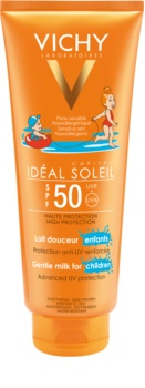 Vichy Idéal Soleil Capital schützende Gesichts - und  Körperlotion für Kinder  SPF50
