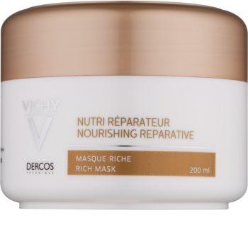 Vichy Dercos Nutri Reparateur mascarilla nutritiva para cabello seco y dañado