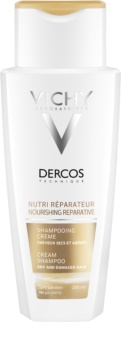 Vichy Dercos Nutri Reparateur vyživující šampon pro suché a poškozené vlasy