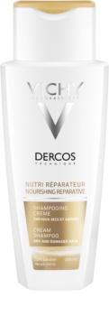 Vichy Dercos Nutri Reparateur vyživujúci šampón pre suché a poškodené vlasy