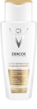 Vichy Dercos Nutri Reparateur подхранващ шампоан  за суха и увредена коса