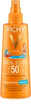 Vichy Idéal Soleil Capital jemný ochranný sprej pre deti SPF 50+